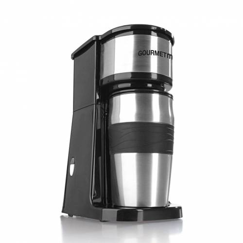 GOURMETmaxx Filterkaffeemaschine, Single inkl. Thermobecher