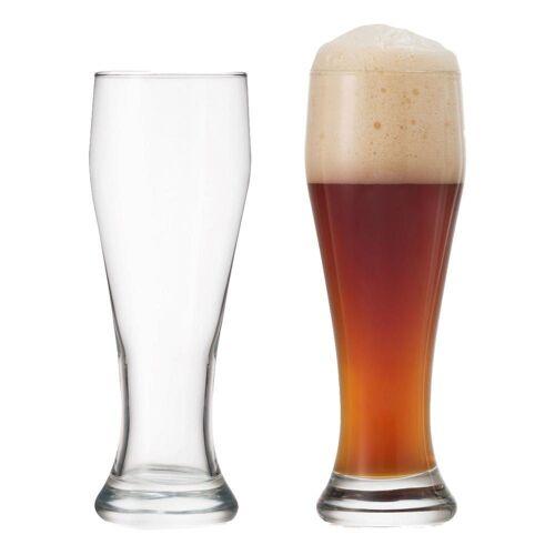 montana-Glas Gläser-Set »:basic Weizenbierglas 2er Set 655 ml«