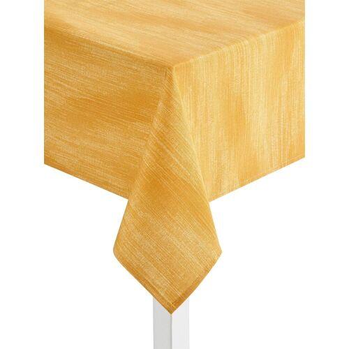 Tischdecke, gelb