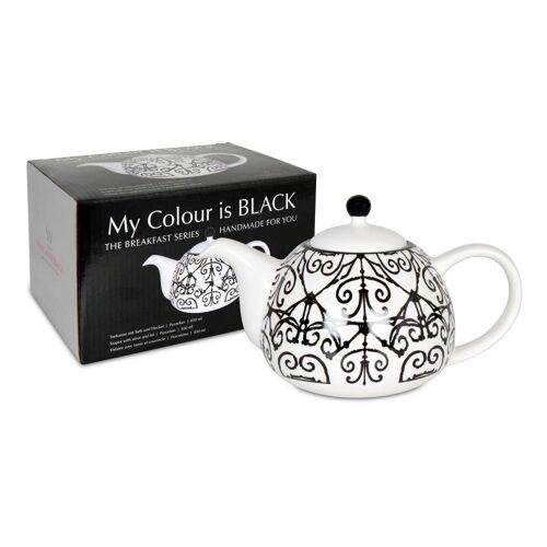 Waechtersbach Teekanne »My Colour Is Black! Mallorquin 850 ml«, 85 l