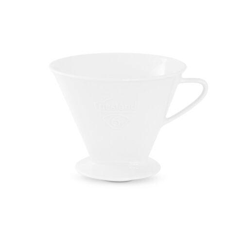 Friesland Porzellan Kaffeebereiter Friesland Kaffeefilter Gr. 6 Weiß Porzellan