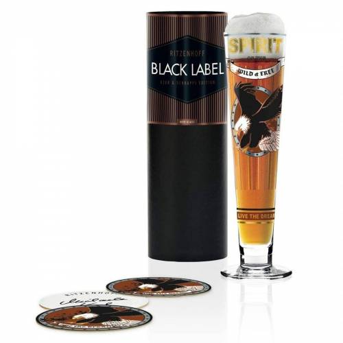 Ritzenhoff Bierglas »Bierglas Black Label M. Koch«