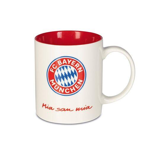 FC Bayern Becher, Kaffeebecher mit Bayern München-Logo