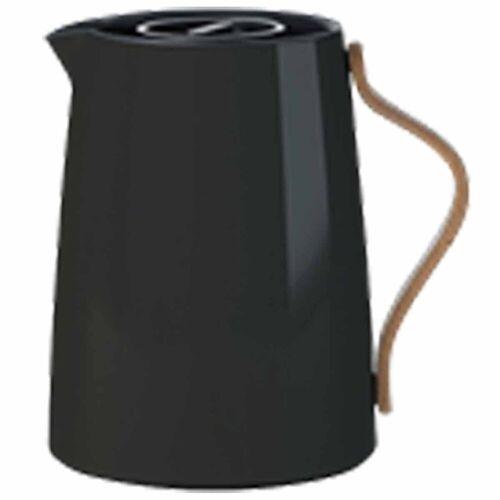 Stelton Isolierkanne »Emma Isolierkanne für Tee 1 Liter schwarz Teekanne«