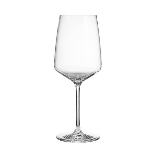 BUTLERS Rotweinglas »WINE & DINE Rotweinglas 650 ml, 6er-Set«, Kristallglas