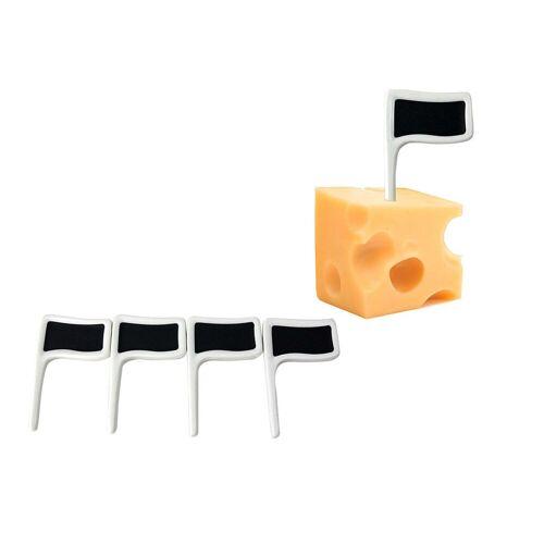HTI-Living Küchenhelfer-Set »Käsefahne«, (4, 4-tlg), Häppchenspieße