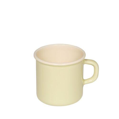 Riess Tasse »Emaille Topf mit Bördel 8cm,3/8L«, Emaille