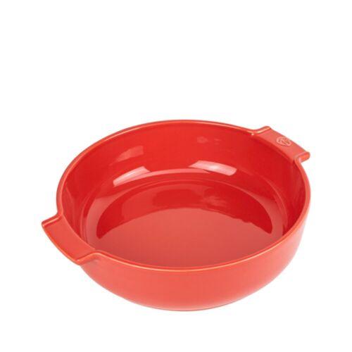 PEUGEOT Auflaufform »Auflaufform Rund 27 cm Appolia«, Keramik, Rot