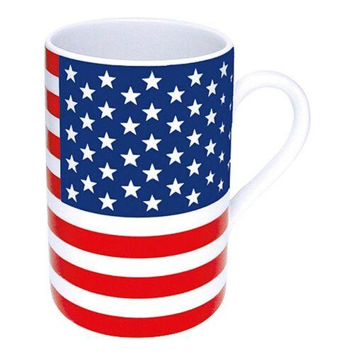 Könitz Becher »Flaggenbecher USA 310 ml«, Porzellan