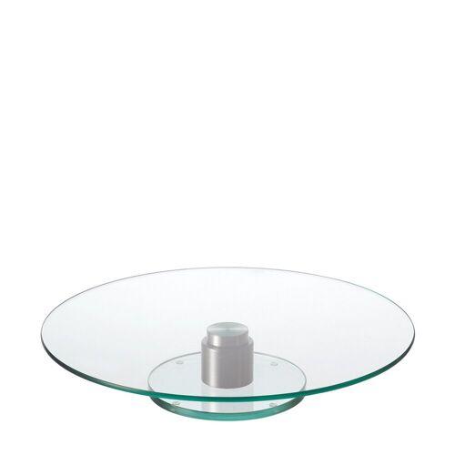 LEONARDO Tortenständer »Tortenplatte Turn«, Glas, Edelstahl, (1-tlg)