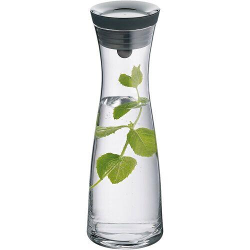 "WMF Karaffe »Glas Karaffe ""Basic"" 1 L«, grau"