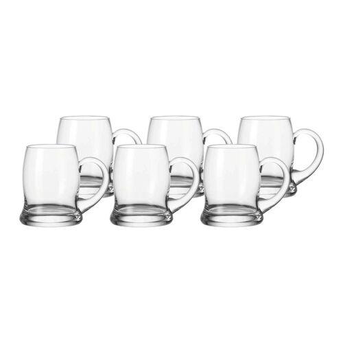 LEONARDO Bierglas »BRAUHAUS Bierkrug 0,5l 6er Set« (6-tlg)