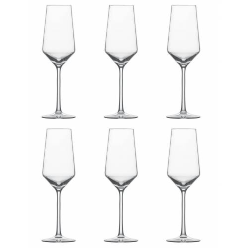 SCHOTT-ZWIESEL Sektglas »Champagner m. MP Pure« (6-tlg), TRITAN -Kristallglas