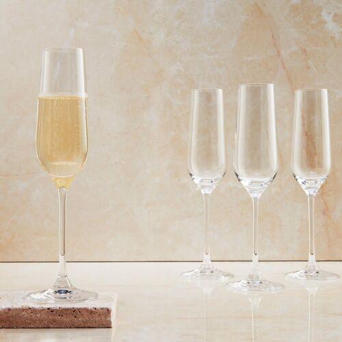 BUTLERS Champagnerglas »SANTÉ 6 x Champagnerflöte 180 ml«