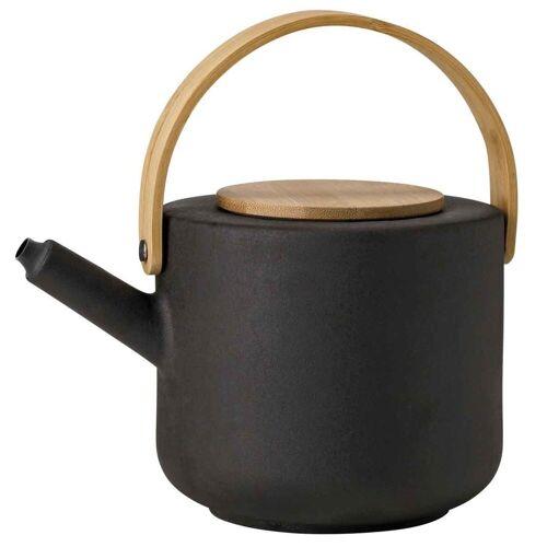 Stelton Teekanne »Theo Teekanne aus Steingut schwarz 1,25 Liter«