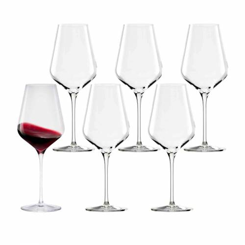 Stölzle Rotweinglas »QUATROPHIL Rotweinglas 570 ml 6er Set« (6-tlg), Glas