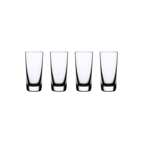 Nachtmann Schnapsglas »Vivendi Stamper 4er Set« (4-tlg), Kristallglas