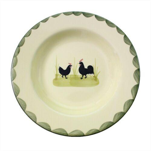 Zeller Keramik Suppenteller »Suppenteller tief Hahn und Henne«