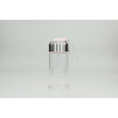 HTI-Line Trinkflasche »Trinkflasche Rosa«, Trinkflasche