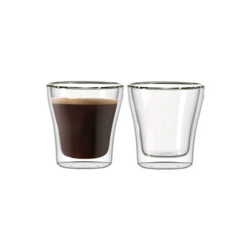LEONARDO Thermoglas »DUO Thermoglas 180 ml 2er Set« (2-tlg), Glas