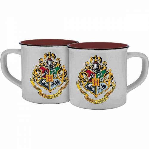 Harry Potter Tasse, rot/weiß