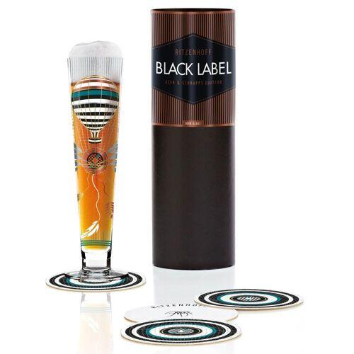 Ritzenhoff Bierglas »Black Label Design Petra Mohr 300 ml«