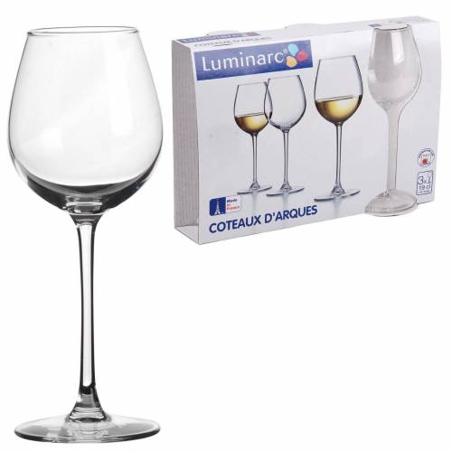 HTI-Living Weinglas »Weinglas 3er Verre a pied«
