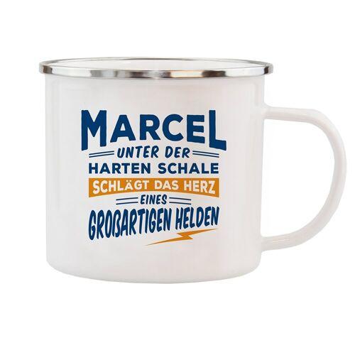 HTI-Living Becher »Echter Kerl Emaille Becher Marcel«
