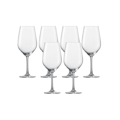 SCHOTT-ZWIESEL Rotweinglas »Wasser, Rotweinglas 6er-Set Vina«