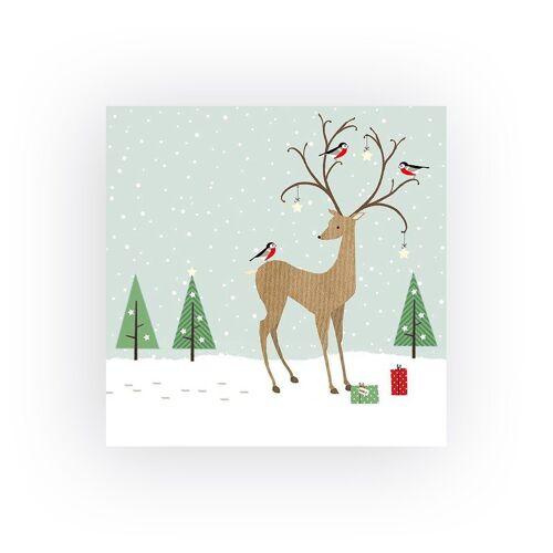 VBS Papierserviette »Winterfreude«, (20 St), 33 cm x 33 cm
