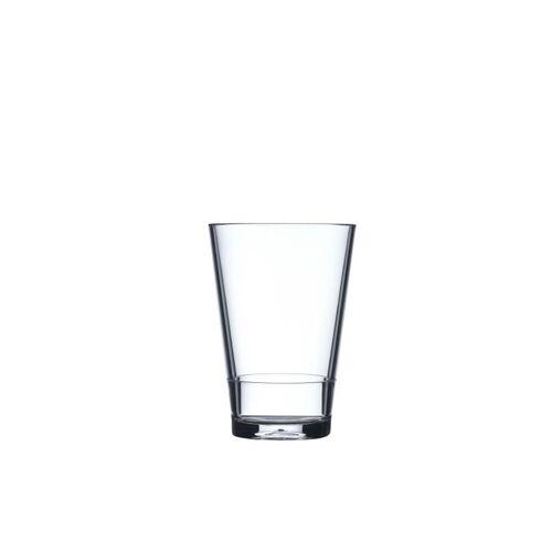 Mepal Becher »Kunststoff Becher Kunststoffglas Flow« (1-tlg), Transparent