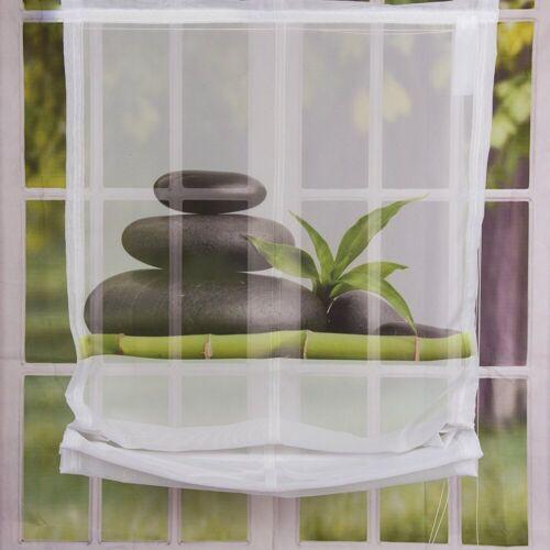 SCHÖNER LEBEN. Vorhang »Raffrollo Digitaldruck CAROZO Digitaldruck Steine 60x140cm«, , (1 Stück)