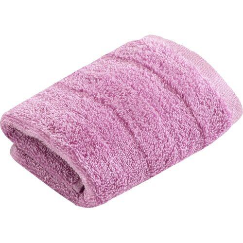 Vossen Waschlappen »Fresh« (3-tlg), BIO und VEGAN, hot lilac