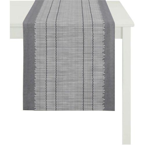 Apelt Tischläufer »3033 Loft Bambusmatte« (1-tlg), grau