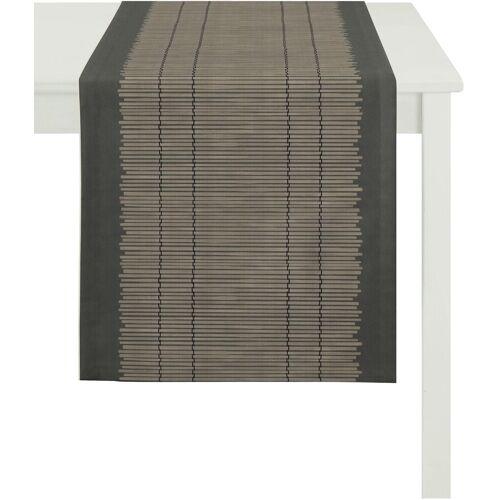 Apelt Tischläufer »3033 Loft Bambusmatte« (1-tlg), braun
