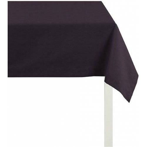 Apelt Tischdecke »4362 Rips - UNI« (1-tlg), schwarz