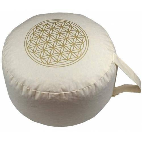 herbalind Yogakissen »Blume des Lebens«,