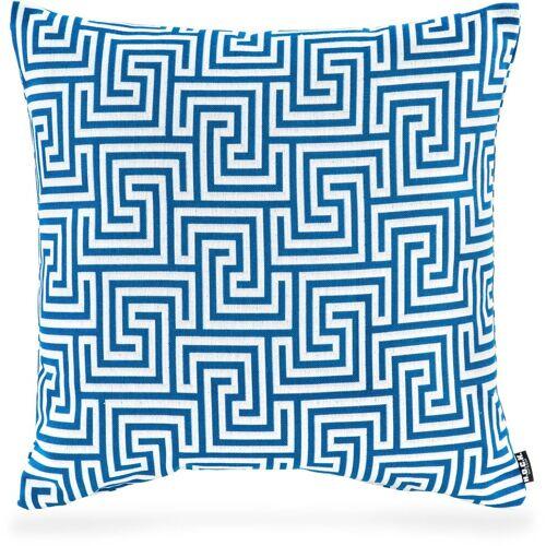 H.O.C.K. Dekokissen »Gauzy blue No 16«, mit tollem Muster