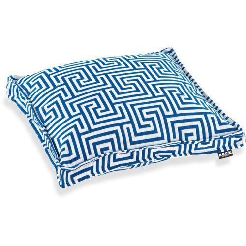 H.O.C.K. Sitzkissen »Gauzy blue No 16«, mit tollem Muster
