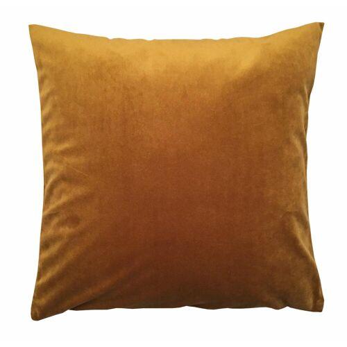HOME WOHNIDEEN Kissenhüllen »SAMT«, goldfarben