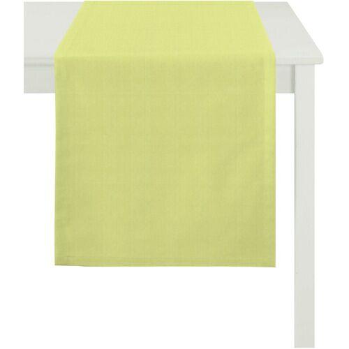 Apelt Tischläufer »3944 UNI BASIC« (1-tlg), hellgrün
