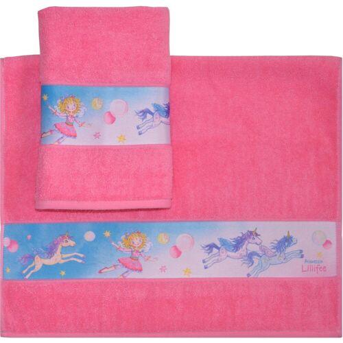 Prinzessin Lillifee Handtücher »Lillifee« (2-St), mit kindlichen Motiven