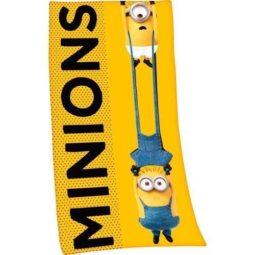 Minions Badetuch »2« (1-St), hochfarbig bedruckt