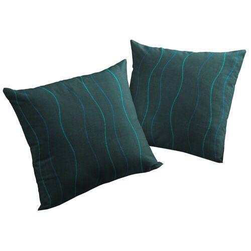 Wirth Kissenhüllen »Sepino«, blau