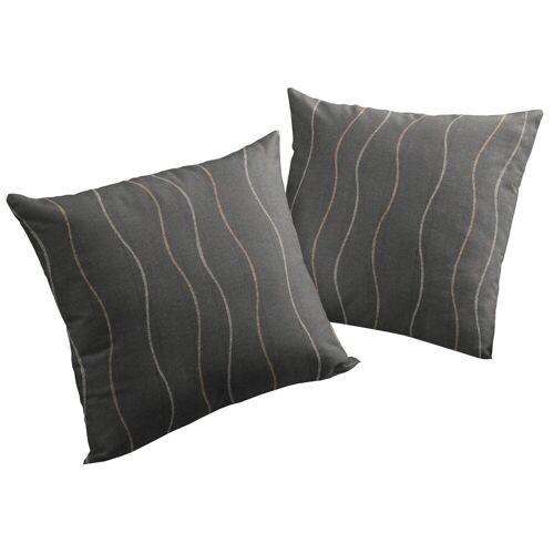 Wirth Kissenhüllen »Sepino«, grau