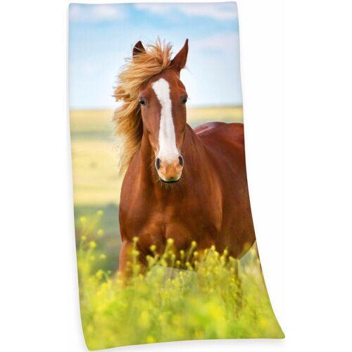 Herding Badetuch »Pferd« (1-St), mit Pferdemotiv
