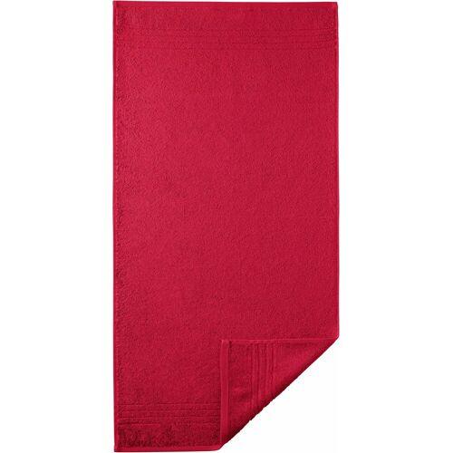 Egeria Handtuch »Madison« (2-St), mit Bordüre, rot