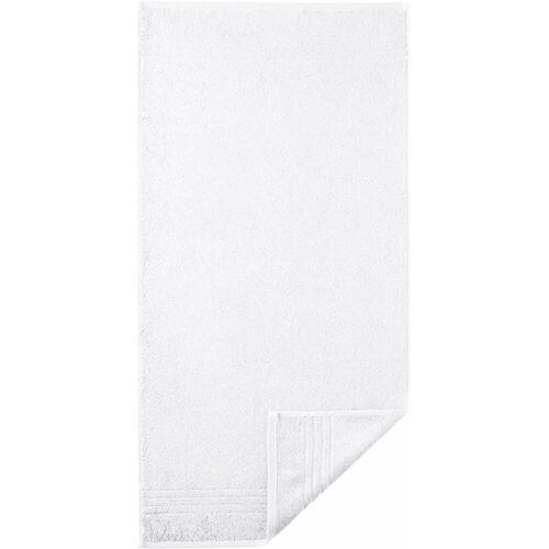 Egeria Handtuch »Madison« (2-St), mit Bordüre, weiß