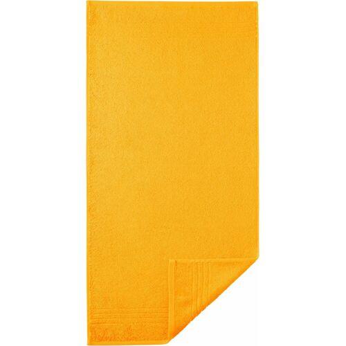 Egeria Handtuch »Madison« (2-St), mit Bordüre, gelb