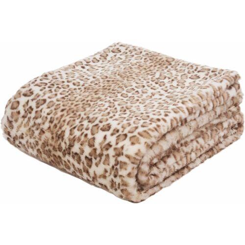 Gözze Wohndecke »Leopard«, , mit Leopardenmuster